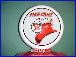 Texaco Fire Chief Gas Pump Globe