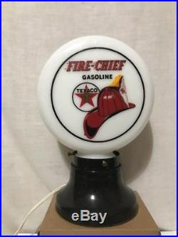 Texaco Fire Chief Gasoline Texaco Gas Pump Globe Light