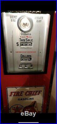 Texaco Fire Chief Gasoline pump Gas pump 1937 (Original)