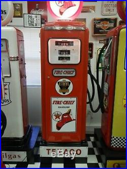Texaco Gas Pump, Completely Restored, Tokheim