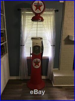 Texaco Gas Pump Custom Replica 7ft Gumball Vending Machine