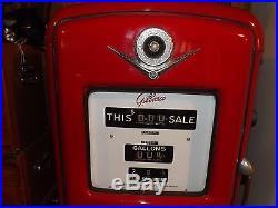 Texaco Gas Pump Gilbarco Fire Chief Vintage 1950's Original