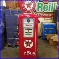 Texaco Gas Pump Vintage Red