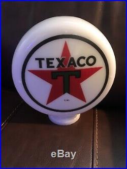 Texaco Gas Star Mini Globe Gas Pump Vintage Style