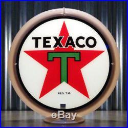 Texaco Gasoline 13.5 Gas Pump Globe Lenses (1 Pair)