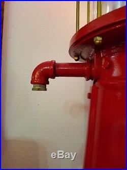Texaco J & B Guarantee Visible Measure Gas Pump