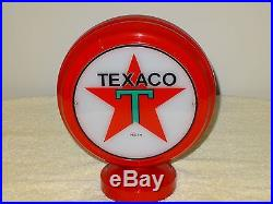Texaco Lighted Gas Pump Lamp Reproduction