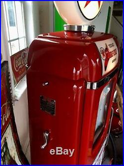 Texaco NATIONAL A-62 Gas Pump Restored Fire Chief Beautiful CAN SHIP