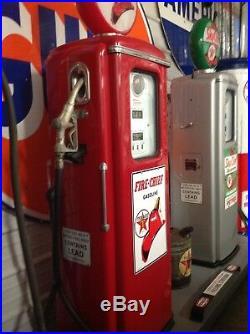 Texaco Original Restored Tokheim 39 Gas Pumps On Rolling Island