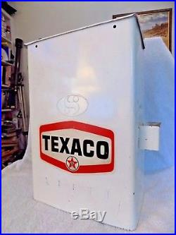Texaco Paper Towel Dispenser Gas Pump Island Window Wash Box