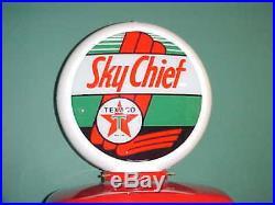 Texaco Sky Chief Gas Pump Globe