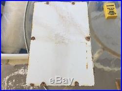 Texaco Sky Chief Gasoline Porcelain Gas Pump Sign