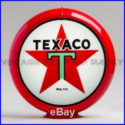 Texaco Star 13.5 Gas Pump Globe with Red Plastic Body (G192)