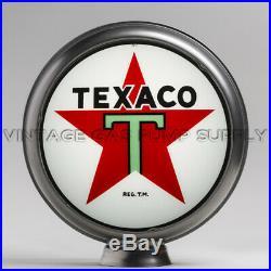 Texaco Star 13.5 Gas Pump Globe with Steel Body (G192)