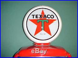 Texaco Star Gas Pump Globe