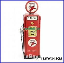 Tin Texaco Fire Chief Gas Pump Model Bank Tinplate Metal Gasoline