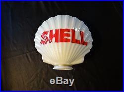 Vintage Shell Gas Pump Globe Exxon Mobile Texaco | Texaco
