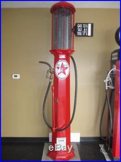 Vintage 1920's American Visible Gas Pump Restored Texaco