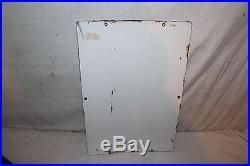 Vintage 1963 Texaco Fire Chief Gasoline Gas Pump Plate 18 Porcelain Metal Sign