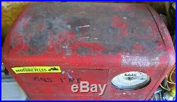 Vintage Erie Airport Aviation Fuel Clockface Gas Pump RARE Texaco Mobil Sinclair