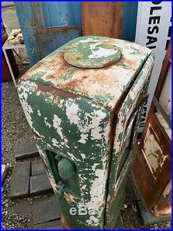Vintage Original Gas Pump Garage Oil Car Truck Sign Shell Texaco Sinclair