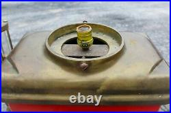 Vintage Reproduction Red Clock-Face Martin & Schwartz Texaco Gas Pump