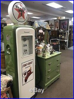 Vintage Texaco Gas Pump Working Counters