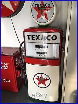 gilbarco 1006 gas pump. vintage texaco gilbarco gas pump early 1960 s 1006