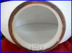 Vintage Texaco Wide Body Milk Glass Gas Pump Globe