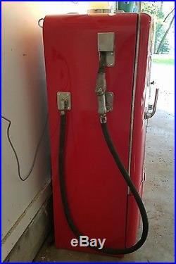 Vintage texaco fire chief gas pump refrigerator
