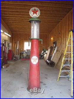 Visible Gas Pump G&B Texaco   Texaco Gas Pump