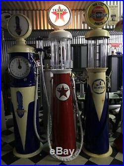 Visible Gas Pump Texaco