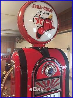 Wayne 60 Gas Pump Completely Restored Texaco Firechief Gas Station CAN SHIP