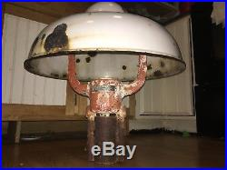 Wayne 60 Station Light Islander Original Gas Pump Mobil Texaco