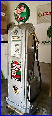 Wayne 60 Vintage Antique gas pump Texaco Fire Chief WILL SHIP